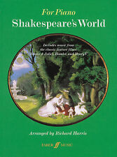 Shakespeares World Film Piano Keyboard Solo Learn to Play Film FABER Music BOOK