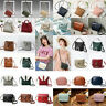 Lady Leather Small Cross Body Handbag Shoulder Bags Tote Purse Messenger Satchel