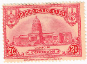 Havana Famous Architecture Capitol stamp 1948 MLH