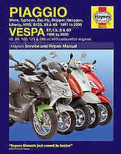Vespa Haynes 2009 Motorcycle Repair Manuals & Literature