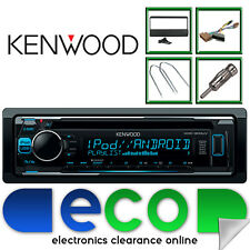 Ford Escort 1996 - 2000 KENWOOD CD MP3 AUX USB Car Stereo Radio Upgrade Kit FD01