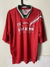 Iran Vintage Soccer Football Adidas Jersey Trefoil XL National Team