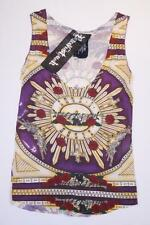 HOUSE OF THE GODS Buddhist Punk GUNS N' ROSES Tank Top LASER CUT 80's $110 S