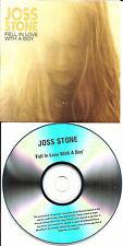 JOSS STONE Victim foolish LIVE & Fell in love RADIO VERSION PROMO DJ CD single