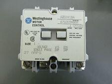Westinghouse A201K1BA Size 1 120 V Coil Contactor