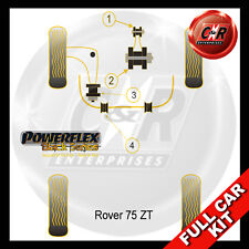 MG ZT Powerflex Black Complete Bush Kit