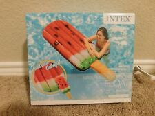 Brand new in the box Intex Watermelon popsicle pool float