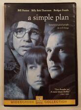 A SIMPLE PLAN (DVD, 2013) Bill Paxton,  Billy Bob Thornton. Very Good
