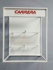 CARRERA TWO PIECE LOGO DISPLAY UNIT IN WHITE VARNISHED IRON