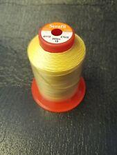 AMANN SERAFIL 10 Starker Thread Colore Giallo 0113 con 300 METRO anti-strappo