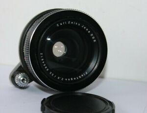 Carl Zeiss Jena Flektogon DDR 35mm f2.8 Wide Angle Lens Exakta Bayonet Mount.