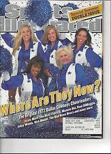 Sports Illustrated July 2-9 2001 Dallas Cowboys Cheerleaders
