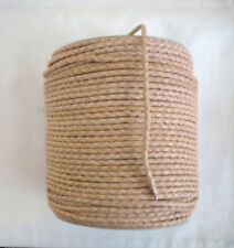 1 metre of Natural Braided Round Leather Cord 3mm.