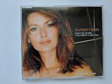 Shania Twain - Don't Be Stupid (you Know I Love You) - cd single - 2000 Mercury
