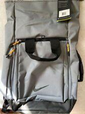 New Nike Sport Golf Backpack, Grey, NWT