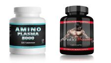 Amino Plasma Schneller Muskelaufbau Testo Booster Testosteron Steroide Anabol