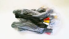 10 LOT NEW Stereo RCA A/V AV Cable Cords for Playstation 1, 2, 3 PSOne PS2 PS3