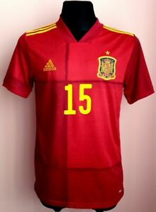 SPAIN ADIDAS HOME FOOTBALL 2019 2020 SHIRT JERSEY CAMISETA AEROREADY SOCCER