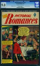 Pictorial Romances #11 [1952] Certified 9.0 RARE BAKER - ONLY 1 HIGHER CGC