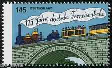 Railway Germany mnh stamp 175 years Leipzig - Dresden Railroad