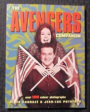 1997 THE AVENGERS COMPANION by Alain Carraze SC VF 8.0 1st Titan Paperback