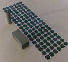 108 pcs Pre-Cut 18650 Insulator and GREY PVC Heat Shrink Wrap Vape ebike