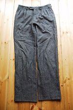 Men's Pleated Tweed Designer Lanvin Boutique Trousers 34x34