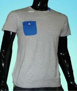 Mens Cool CasualT-Shirt Nickelson Grey Top Jersey Pullover XXL 2XL UK 52 54 New