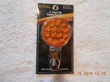"""3"""" Pearl LED Double Face Amber/ Red Lights"""