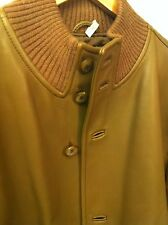 Ermenegildo Zegna men's leather bomber jacket size 50 ( medium )