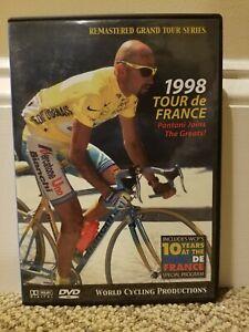 RARE - 1998 Tour de France 3 DVD Set World Cycling Productions - Marco Pantani