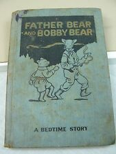 Bedtime Story - Father Bear and Bobby Bear Illustrated Hard cover