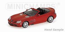 1:43 Mercedes SLR McLaren 2007 red MINICHAMPS 400037131 OVP new 1 of 1008