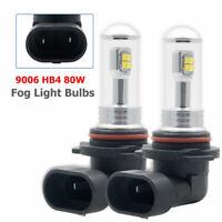 2x HB4 9006 LED Ultra Brillante Blanco Canbus Coche Bombilla Luz de Niebla DRL