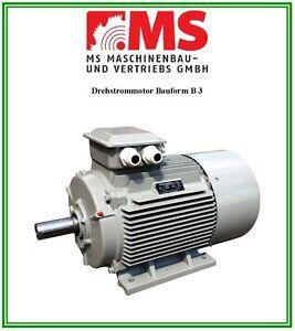 Elektromotor Drehstrommotor 2,2 kW, 230/400 V, 1500 U/min, Energiesparmotor IE2