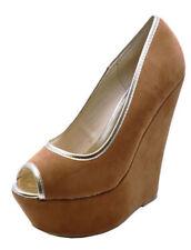 Calzado de mujer marrones sin marca, talla 40