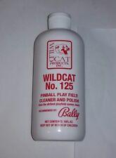 Wildcat #125 Pinball Machine Playfield / Air Hockey Table Cleaner & Polish New!