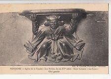 BF12348 sujet fanttaisie  eglise de la trinite vendome  france front/back image