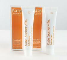 2 Kate Somerville ExfoliKate Intensive Exfoliating Treatment .25oz Sealed Travel