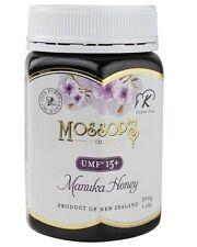 Moss's Manuka Honey UMF 15+ 500g 1.1lb NEW - Exp: 5/2020 or after
