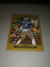 BRAD WILKERSON 2007 TOPPS GOLD #D 468/2007 CARD # 589 LOOK @ STORE