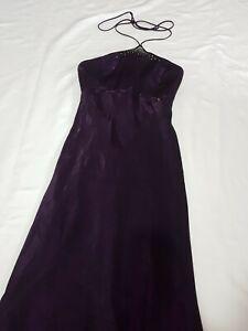 Womens Purple Mr K Formal Dress Size 10
