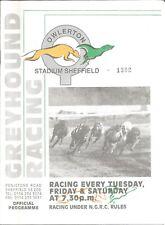 Nice Sheffield Greyhound Racecard - 1997