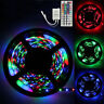 5M RGB 3528 300 Led SMD Flexible Light Strip Lamp+ 44 key IR Remote Controller