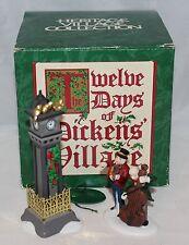 "Department 56 ""Four Calling Birds""  Twelve Days of Dickens Village #4  58379"