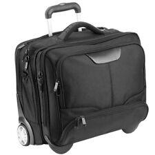 Dermata Business-Trolley Reisekoffer Rollenkoffer 43 cm Laptopfach (schwarz)