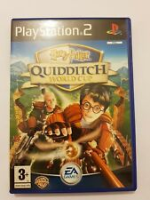 Harry Potter QUIDDITCH World Cup PS2+regalo tarjeta pal Reino Unido completo