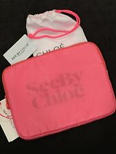 NWT SEE BY CHLOE CALYPSO ZIPTOP POUCH TABLET CASE-PINK