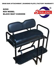 Steeleng EZRV1 Rear Flip Seat for EZ-GO RXV Golf Cart