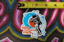 MUSIC FROM SPACE Microphone MC Astronaut Hip Hop Punk Indy M1 MISC MUSIC STICKER